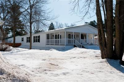 Rice Lake WI Single Family Home For Sale: $137,900