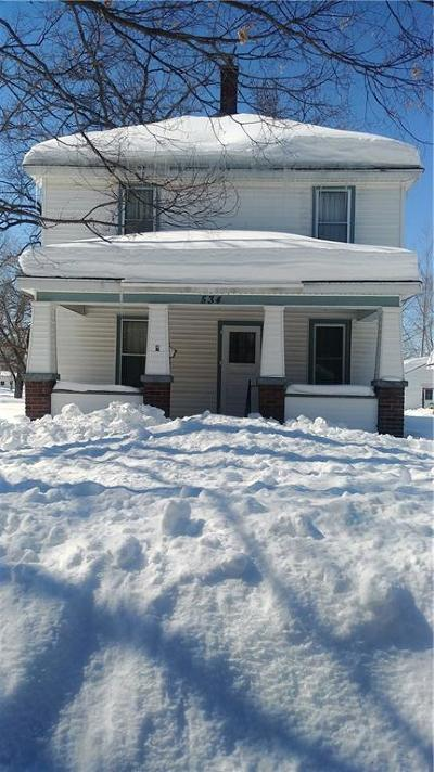 Chippewa Falls Single Family Home Active Under Contract: 534 Irvine Street