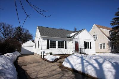 Eau Claire Single Family Home For Sale: 1536 Hoover Avenue