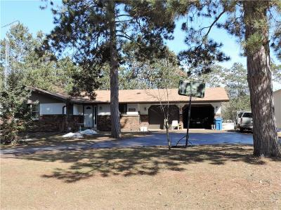 Spooner Single Family Home Active Under Contract: W7493 Green Valley Road