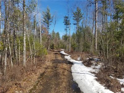 Jackson County, Clark County Residential Lots & Land For Sale: N8984 Flood Road