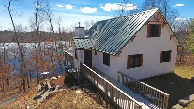Spooner Single Family Home For Sale: W9109 Woodchuck Lane