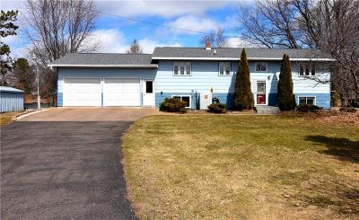 Rice Lake Single Family Home For Sale: 2667 27 1/4 27 3/4 Street