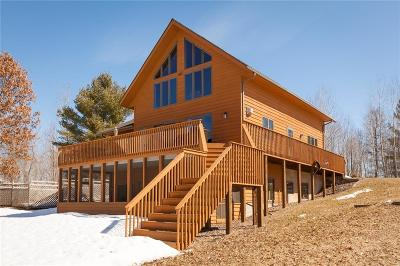 Spooner Single Family Home Active Under Contract: N4555 Beaver Pond Lane
