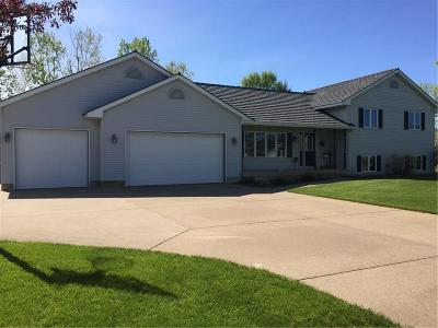 Chippewa Falls Single Family Home Active Under Contract: 4576 145th Street