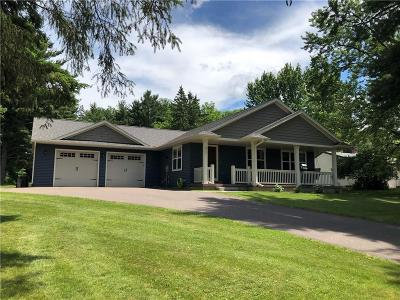 Eau Claire Single Family Home For Sale: 3721 Jeffers Road