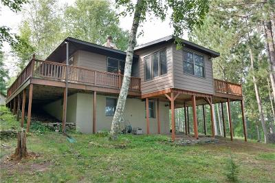 Minong Single Family Home For Sale: W6708 Hwy I
