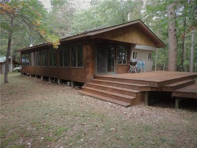 Spooner Single Family Home For Sale: N7690 Pair O Lakes Rd.