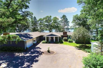 Spooner Single Family Home For Sale: W5843 Honey Hill Road