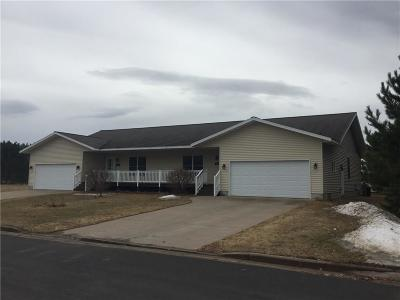 Spooner Single Family Home For Sale: 1201/1203 Woodland Street