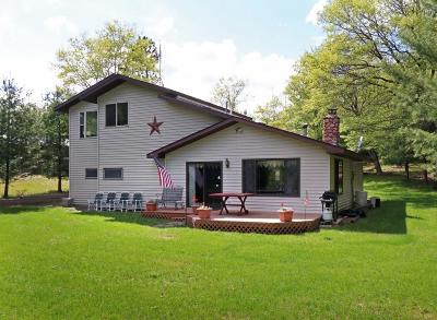 Minong Single Family Home Active Under Contract: N12741 Three Mile Road