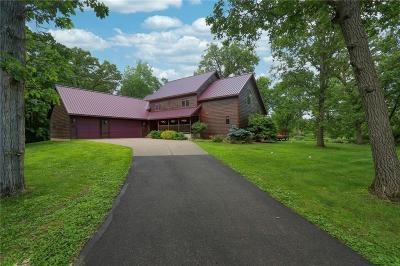 Eau Claire Single Family Home For Sale: 4255 Elk Creek Road