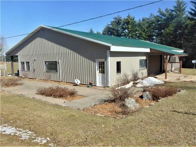 Whitehall Single Family Home For Sale: N36650 County Rd. S