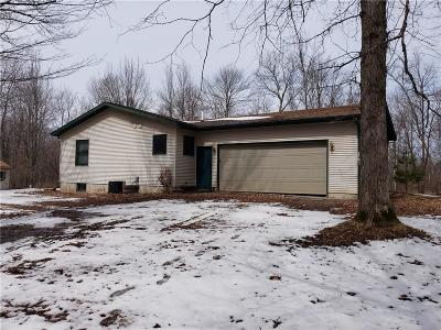 Rice Lake Single Family Home For Sale: 2441 27 1/2 Street