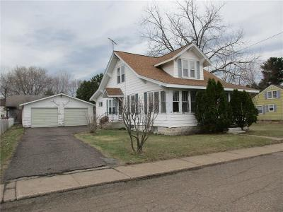 Chetek Single Family Home For Sale: 517 Mound Street