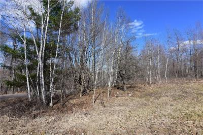 Chetek Residential Lots & Land Active Under Contract: W15135 Horseshoe Lake Road
