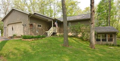Spooner Single Family Home For Sale: N4761 Hill Drive