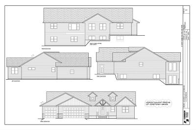 Eau Claire Single Family Home Active Under Contract: Lot 3 Apple Road