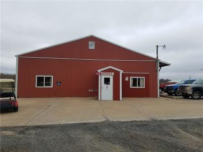 Jackson County Commercial For Sale: N10299 Hwy 95