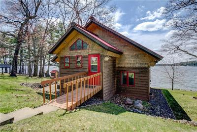 Stone Lake WI Single Family Home For Sale: $548,000