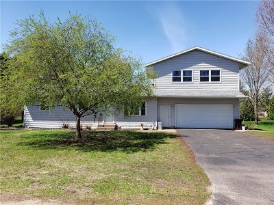 Chippewa Falls Single Family Home Active Under Contract: 4498 145th Street