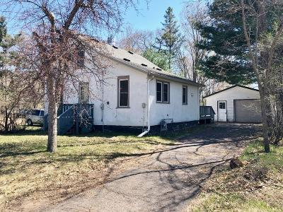 Webster Single Family Home For Sale: 7341 Fir Street E