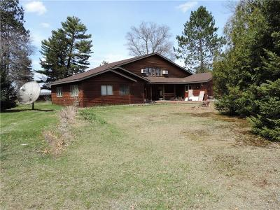 Spooner Single Family Home Active Under Contract: W5826 Spooner Lake Road
