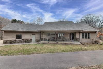 Elk Mound Single Family Home For Sale: N6425 State Road 40