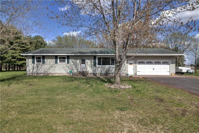 Chippewa Falls Single Family Home Active Under Contract: 4513 112th Street