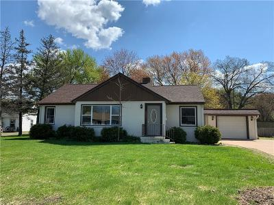 Eau Claire Single Family Home For Sale: 3033 Rudolph Road