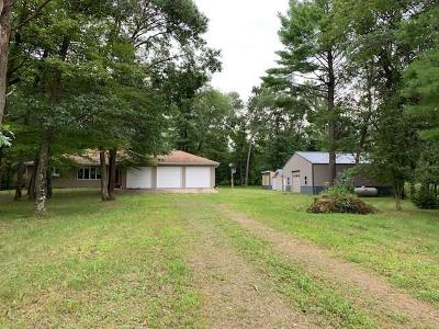 Jackson County, Clark County Single Family Home For Sale: W9898 Gilbert Road