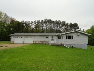 Menomonie Single Family Home For Sale: N3757 350th Street
