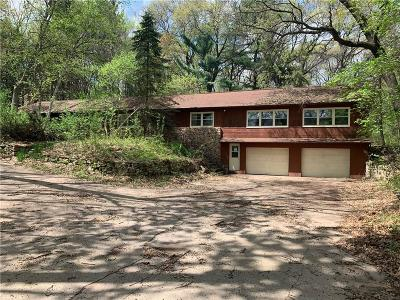 Eau Claire Single Family Home For Sale: 1266 Hwy F