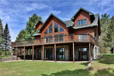 Single Family Home For Sale: 46015 W Tahkodah Lake Road