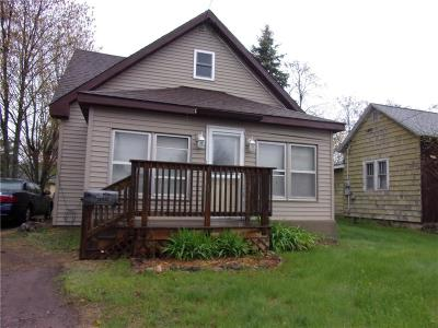 Spooner Single Family Home For Sale: 1117 N River Street
