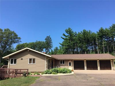 Chippewa Falls Single Family Home Active Under Contract: 20141 County Highway X