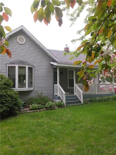 Rice Lake WI Single Family Home Active Under Contract: $119,000