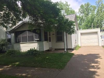 Chippewa Falls Single Family Home Active Under Contract: 342 Stanley