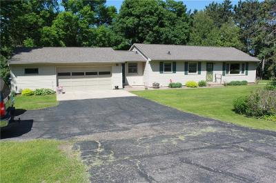 Menomonie Single Family Home Active Under Contract: N4107 Hwy 25