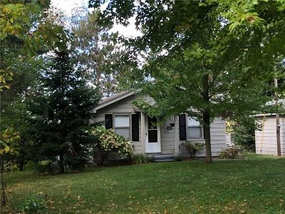 Spooner Single Family Home For Sale: N8197 Island Lake Road