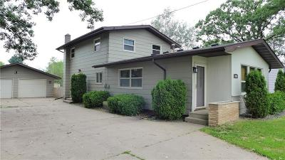 Rice Lake WI Single Family Home Active Under Contract: $129,900
