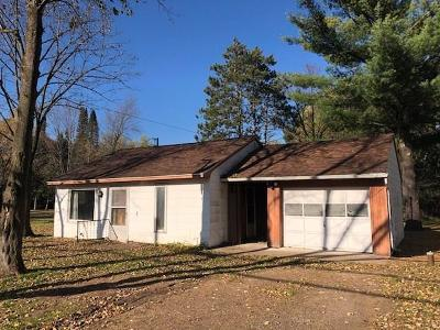 Chippewa Falls Single Family Home For Sale: 16904 Hwy J