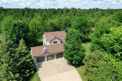 Chippewa Falls Single Family Home Active Under Contract: 18440 67th Avenue N