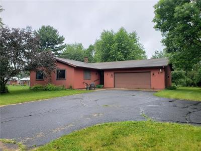 Chippewa Falls Single Family Home For Sale: 4458 145th Street