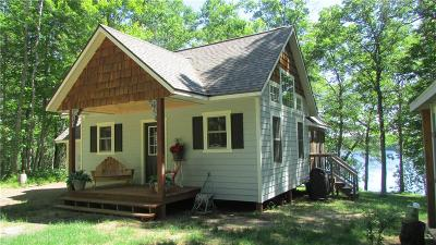 Single Family Home For Sale: N7526 Pair O Lakes Road