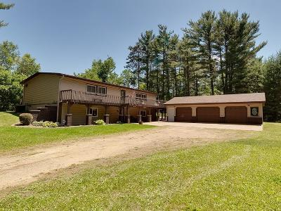 Menomonie Single Family Home Active Under Contract: 2528 Cedar Falls Road