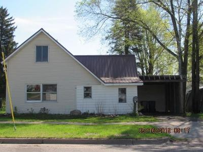 Rice Lake Single Family Home For Sale: 315 Reuter Avenue
