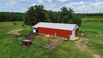 Clark County Farm For Sale: W6050 Sherwood Road