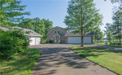 Minong Single Family Home For Sale: N12150 Gomoll Drive