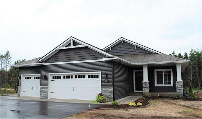 Chippewa Falls Single Family Home For Sale: Lot 110 Willow Creek Parkway